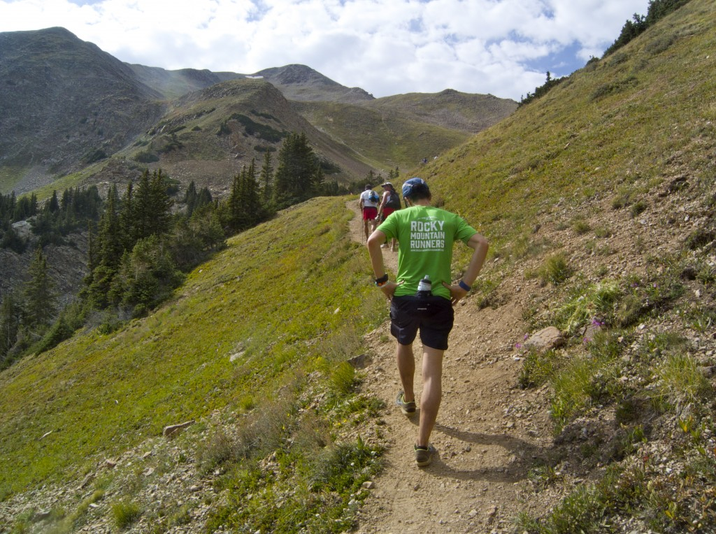 Going up the South Side of Hope Pass. Photo: Ben Barthe