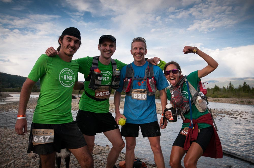 """With Ryan S, Mike O, and Liz W heading into Twin Lakes 2 AS - some of my """"bad influence"""" that I appreciate so much."""