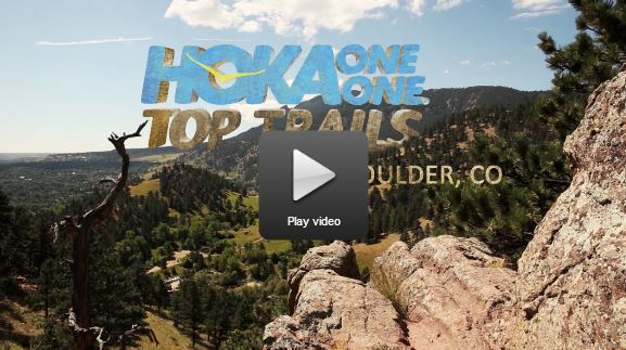 Hoka Top Trails: Boulder CO