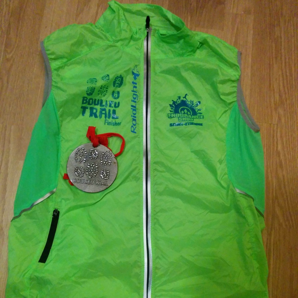 Getting a finisher jacket & a big ass medal is cool.